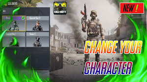 Change The Character In COD call of duty