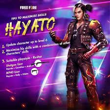 character combinations for Hayato