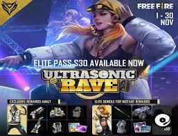 Free Fire Elite Pass.