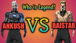 ANKUSH FREE FIRE vs Raistar