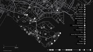 GTA-style map of Sentosa