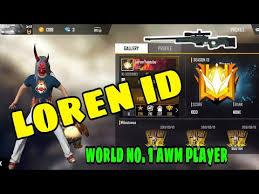 Free Fire ID Lorem's