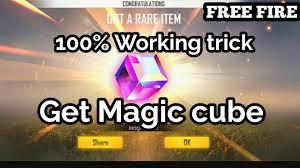 magic cube in free fire
