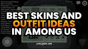 stylish outfits in Among Us