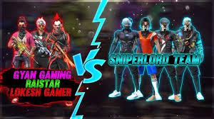 Sniper Lord vs. Lokesh Gamer