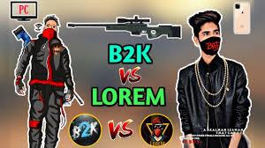 Lorem vs. Nobru's Free Fire