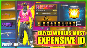 Richest players of free fire