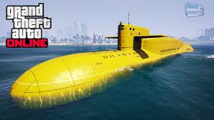 submarine in GTA Online