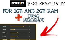 Ram Sensitivity Free Fire