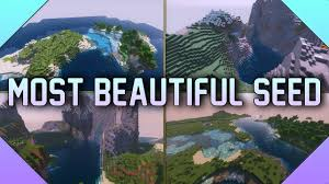beautiful landscapes in Minecraft