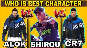 Shirou vs. K vs. Chrono