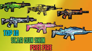 SCAR Skins in Free Fire
