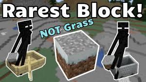 Minecraft: Top Rarest blocks
