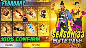 free Fire Season 33 Elite
