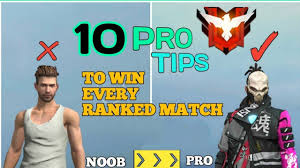 Pro Tips to win Free Fire