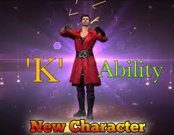 KSHMR's K character in FREE FIRE