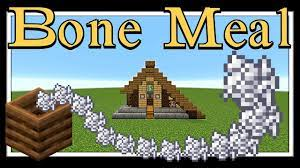 Minecraft: Uses for bonemeal