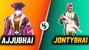 Jonty Gaming vs/ Ajjubhai