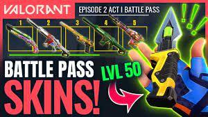 Valorant Episode 2 Act 2 Battlepass