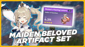 Where to find the Maiden Beloved set in Genshin Impact