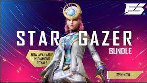 Star Gazer bundle in Free Fire