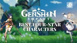 Top 4-star characters in Genshin Impact