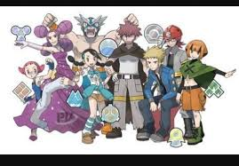 Top Gym from the anime in Pokémon