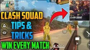 win Free Fire's Clash Squad mode