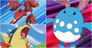 Pokémon's on Ground from Johto