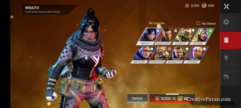 apex character
