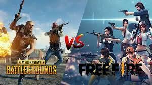 Free Fire vs PUBG Mobile