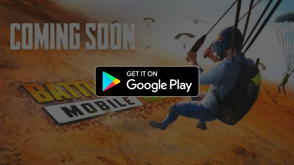 Battlegrounds Mobile India Google Play Store Official Link