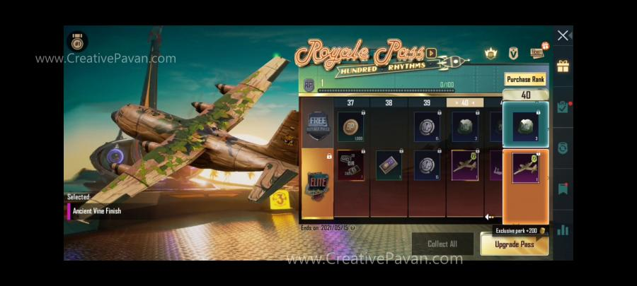 Season 19 Royal Pass RP Rewards